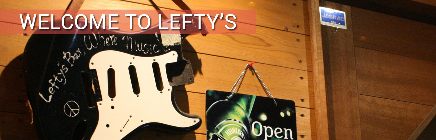 welcome to lefty's